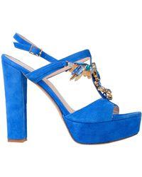 Ilaria Toschi Sandales - Bleu