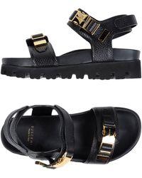 Buscemi Sandals - Black
