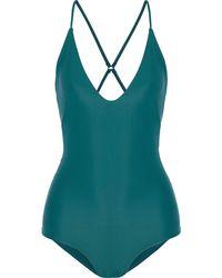 Mikoh Swimwear Badeanzug - Grün