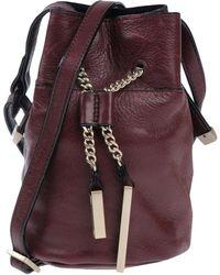 Halston Cross-body Bag - Purple