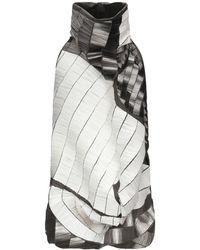 Rick Owens Robe courte - Blanc