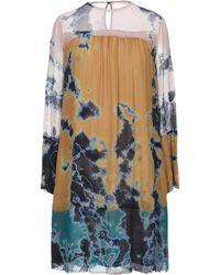 Raquel Allegra - Short Dress - Lyst
