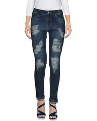 Carolina Wyser - Denim Trousers - Lyst