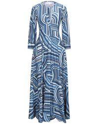 Le Sarte Pettegole Long Dress - Blue