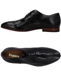 Raparo Zapatos de cordones - Negro