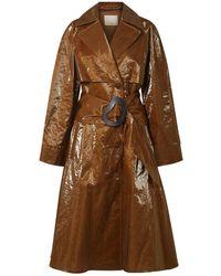 Tibi Overcoat - Brown