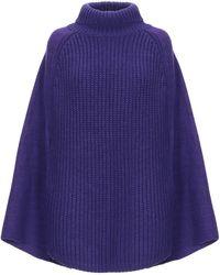 Emporio Armani Capes & Ponchos - Purple