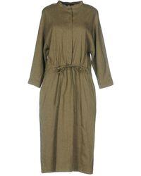Brian Dales 3/4 Length Dress - Green