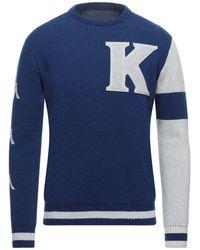 Kappa Pullover - Blu