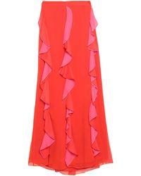 Diane von Furstenberg Long Skirt - Red