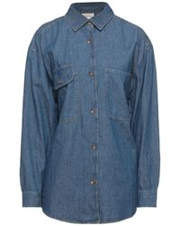 American Vintage Denim Shirt - Blue