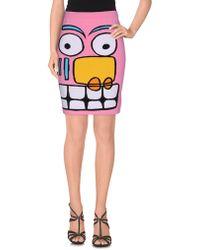 Jeremy Scott - Knee Length Skirt - Lyst