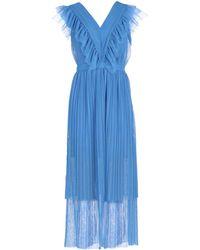 Silvian Heach Long Dress - Blue