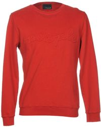 People Sweatshirt - Red