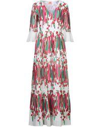 Le Sirenuse Long Dress - White