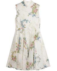 Topshop Unique Short Dress - White
