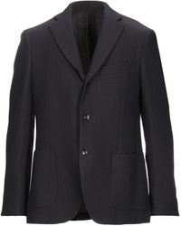 Lardini Suit Jacket - Blue