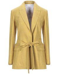 CASASOLA Suit Jacket - Yellow