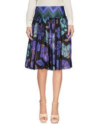 Alberta Ferretti - Knee Length Skirt - Lyst