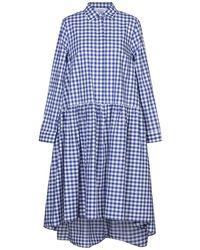 Aglini - Knee-length Dress - Lyst