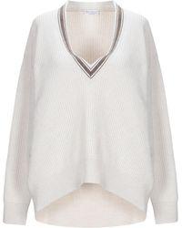 Brunello Cucinelli Sweater - White