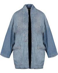 Current/Elliott Denim Outerwear - Blue