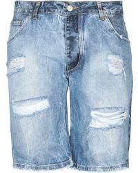 Klixs Jeans - Denim Bermudas - Lyst