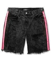 Amiri Denim Shorts - Black