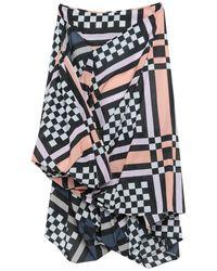 Vivienne Westwood Anglomania 3/4 Length Skirt - Blue