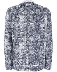 Tintoria Mattei 954 Chemise - Bleu