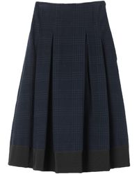 Ballantyne Midi Skirt - Blue