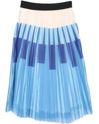 Anonyme Designers 3/4 Length Skirt - Blue