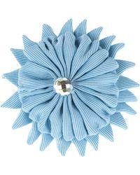 Moschino Brooch - Blue