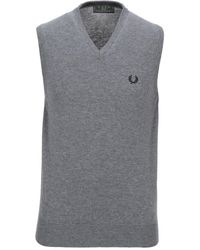 Fred Perry Jumper - Grey