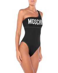 Moschino One-piece Swimsuit - Black