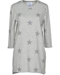 Zoe Karssen Short Dress - Gray