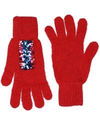 Pinko Gloves - Red