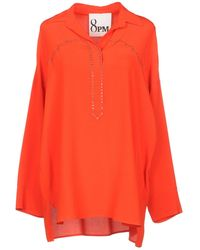 8pm Blouse - Orange