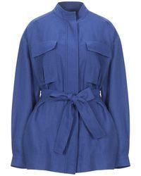 Loro Piana Overcoat - Blue