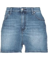 Armani Exchange Shorts vaqueros - Azul