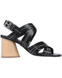 Proenza Schouler Sandals - Black
