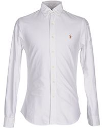 Polo Ralph Lauren Chemise - Blanc