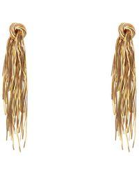 Celine Earrings - Metallic