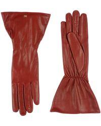 Dolce & Gabbana Gloves - Red