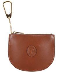 Trussardi Key Ring - Brown