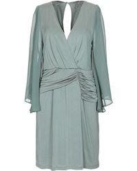 Annarita N. Short Dress - Green