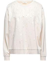 LE COEUR TWINSET Sweatshirt - White