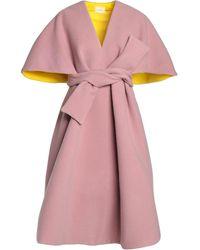 Delpozo Capes & Ponchos - Pink