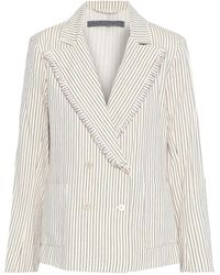 Raquel Allegra Suit Jacket - White