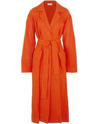 Isa Arfen Overcoat - Orange